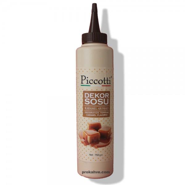 Piccotti Dekor Sos Karamel 750 Gr