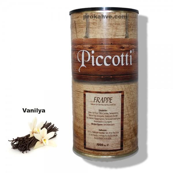 Piccotti Frappe Vanilyalı 1000 Gr Kutu