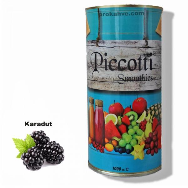 Piccotti Smoothies Karadut 1000 Gr Kutu