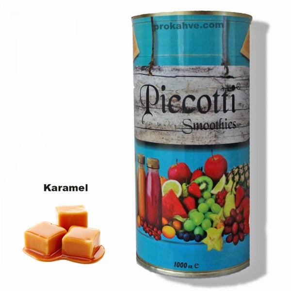 Piccotti Smoothies Karamel 1000 Gr Kutu