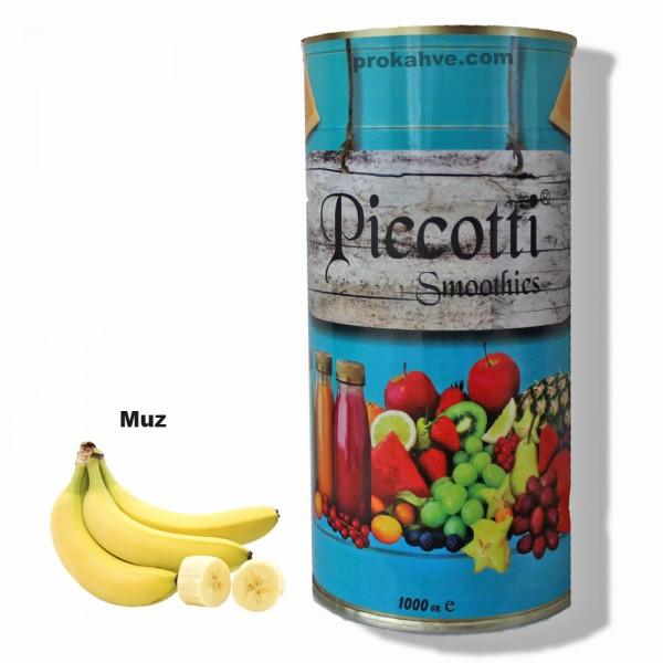 Piccotti Smoothies Muz 1000 Gr Kutu
