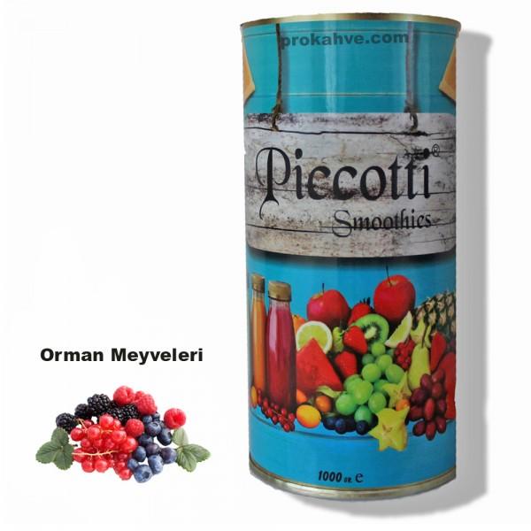 Piccotti Smoothies Orman Meyveli 1000 Gr Kutu