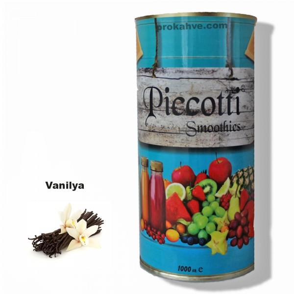 Piccotti Smoothies Vanilya 1000 Gr Kutu