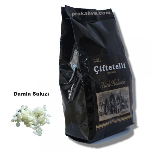 Çiftetelli Damla Sakızlı  Otantik Türk Kahvesi 500 GR Paket