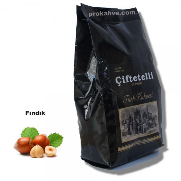 Çiftetelli Fındıklı Otantik Türk Kahvesi 500 GR Paket