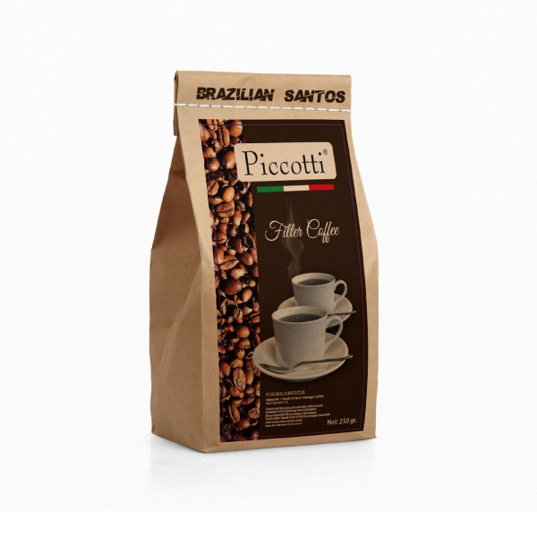 Piccotti Filtre Kahve Brezilya 250 Gr