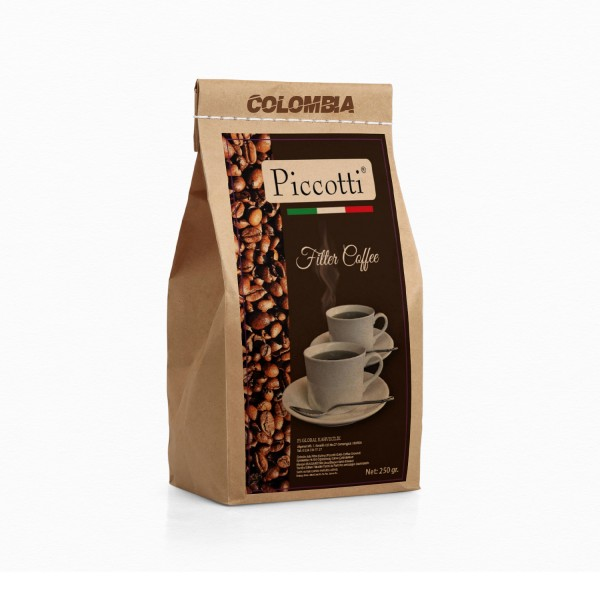 Piccotti Filtre Kahve Colombia 250 Gr